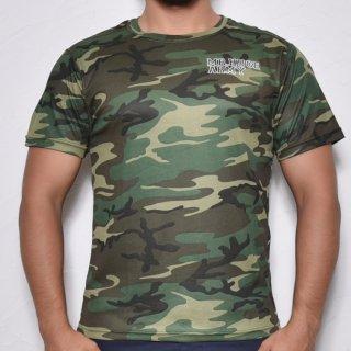MR.HUGE COOL DRY CAMOUFLAGE T-SHIRTS(クールドライ 迷彩 Tシャツ)グリーン
