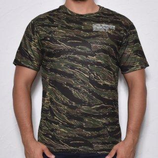 MR.HUGE COOL DRY CAMOUFLAGE T-SHIRTS(クールドライ 迷彩 Tシャツ)ブラック