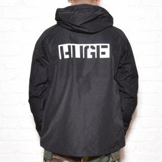 MR.HUGE BACK ROGO MODS PARKA(バッグ ロゴ モッズ パーカー)ブラック