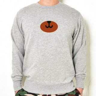MR.HUGE BEAR NOSE (ベアー ノーズ) PRINTED SWEAT