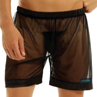huge SEETHROUGH MESH SHORT PANTS(シースルー メッシュ ショート パンツ)ブラック