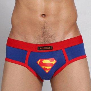 huge SUPERMAN COTTON BRIEF(スーパーマン コットン ブリーフ)ブラック