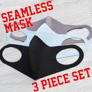 【即納】SELECT Polyurethane seamless MASK 3pieceSET(ポリウレタン シームレス マスク 3色セット)ミックス