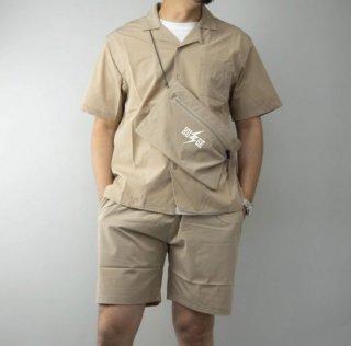 MR.HUGE INAZUMA ROGO PRINETD 3PIECE SHIRTS/PANTS/SACOCHE SET(HU⚡GE ロゴ プリント 3点セット)