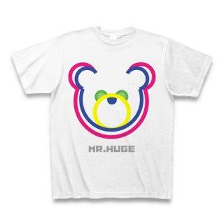 MR.HUGE DOUBLE LINE BEAR(ダブル ライン ベア)PRINTED Tシャツ ピンクライン