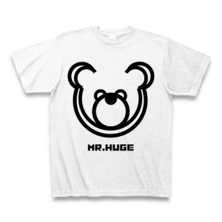 MR.HUGE DOUBLE LINE BEAR(ダブル ライン ベア)PRINTED Tシャツ ブラックライン