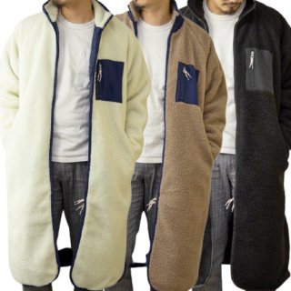 [予約] MR.HUGE SHEEP BOA LONG COAT(シープ ボア ロング コート)