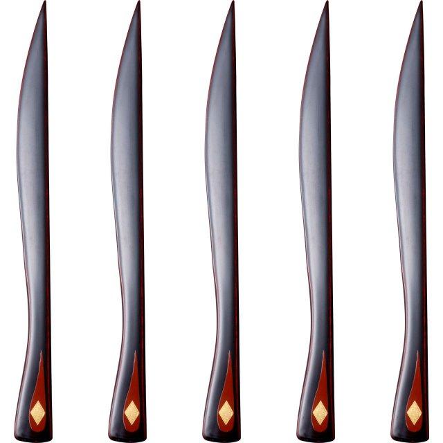ナイフ 溜 5本セット