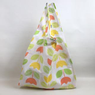 ヴィンテージ布のオリジナルショッピングバッグ