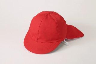 フラップ付き(紅白帽子)