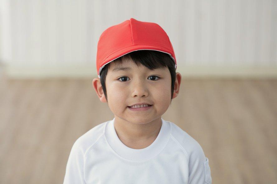 遮熱タイプ(紅白帽子)