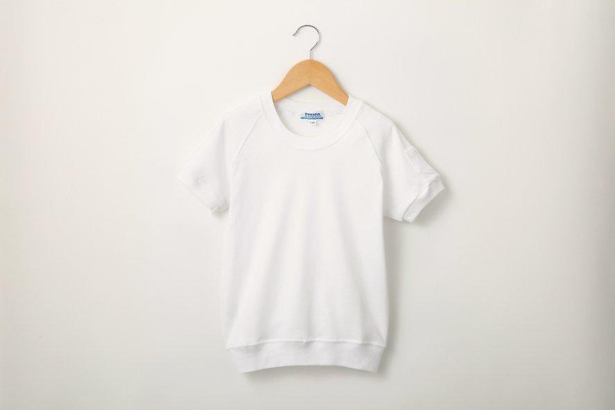 丸首半袖シャツ(綿100%)抗菌防臭加工