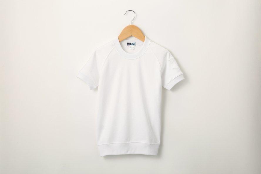乾きやすい 半袖体操服 丸首タイプ[素材]ポリエステル55%|綿45%|