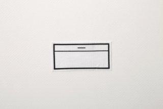 ストレッチゼッケン(小/4cm×9cm)【アイロン圧着ノリ付き】