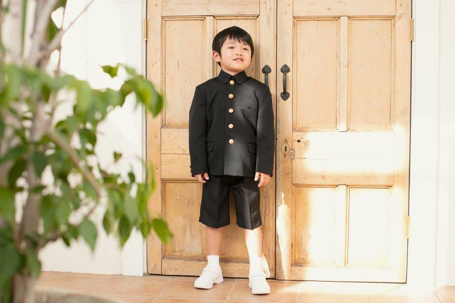 折襟型通学服(男の子用)