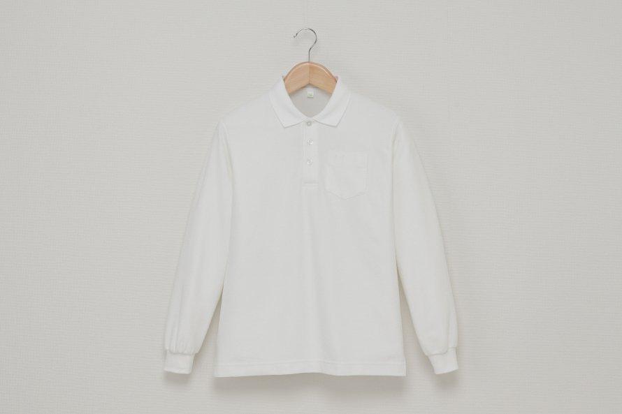 男児 長袖ポロシャツ(吸汗速乾・形態安定)