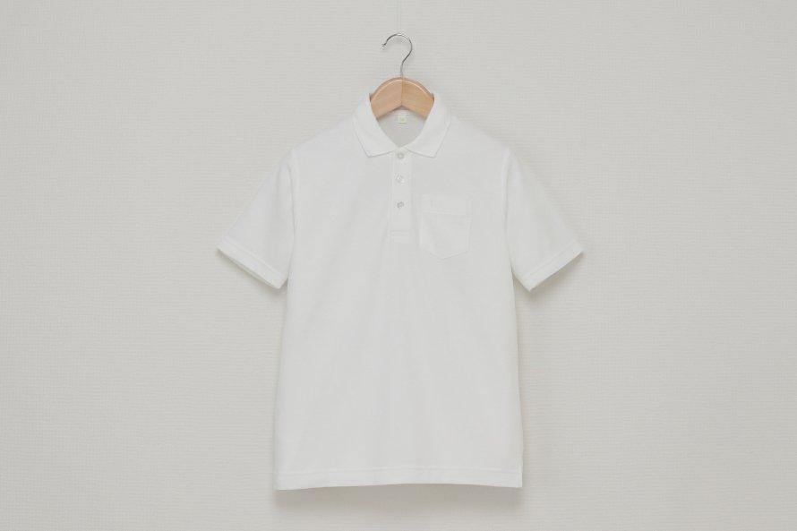 男児 半袖ポロシャツ(吸汗速乾・形態安定)