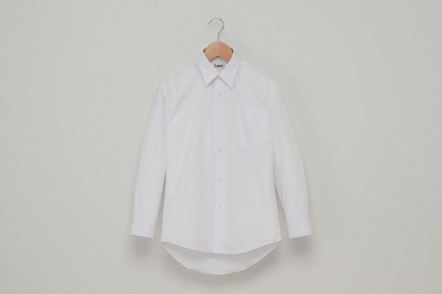 男児 長袖ワイシャツ(形態安定加工)