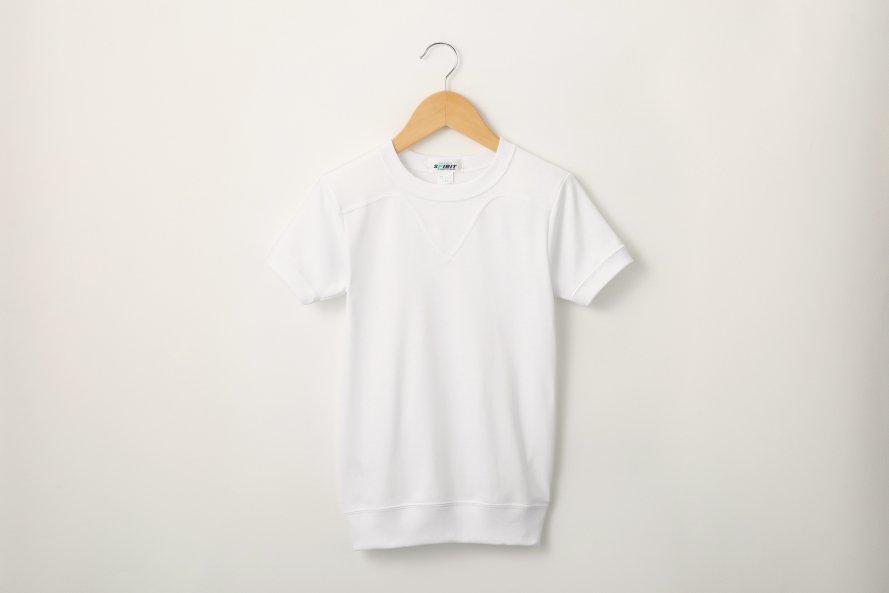 乾きやすい 半袖シャツ 切替(ヨーク)タイプ