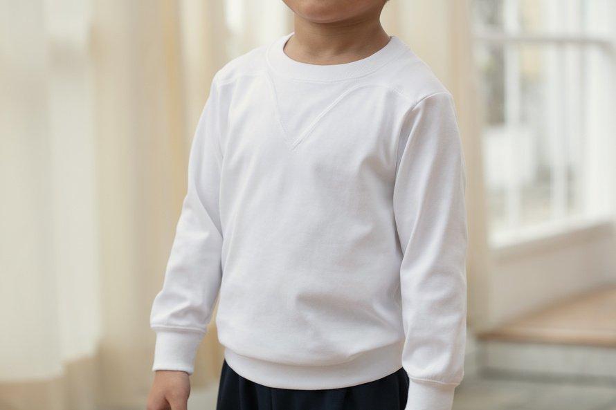 乾きやすい 長袖シャツ 切替(ヨーク)タイプ