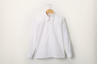 女児 長袖ワイシャツ(形態安定加工)