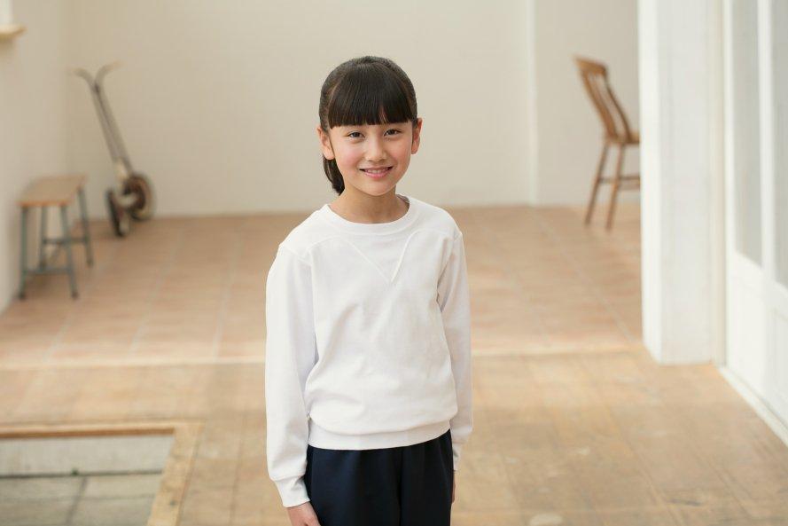 綿100%・日本製(ヨーク付き長袖シャツ)