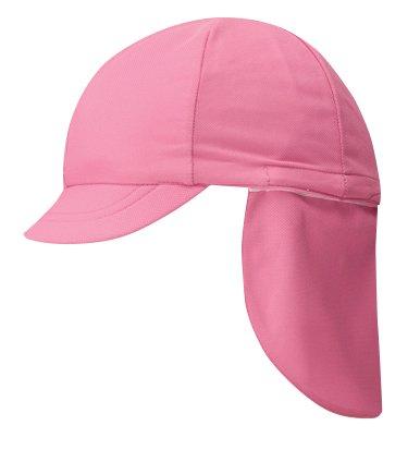 フラップ付きカラー帽子(裏面白色)