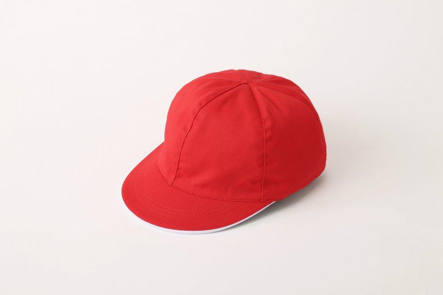 綿100% 紅白帽子(男女兼用)