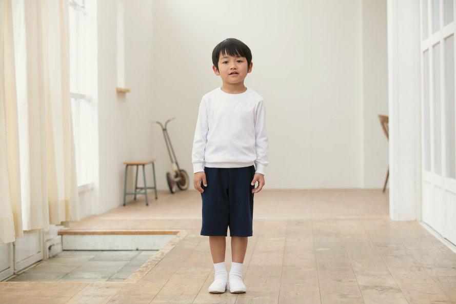 日本製で敏感肌向けのハーフパンツ【厚手】