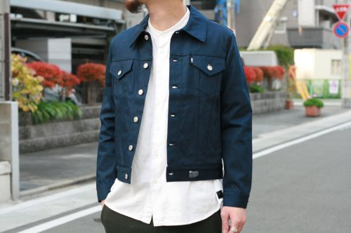 〈soe〉12oz Denim Jacket