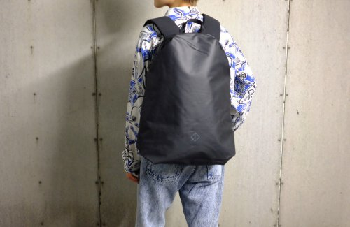 <img class='new_mark_img1' src='//img.shop-pro.jp/img/new/icons47.gif' style='border:none;display:inline;margin:0px;padding:0px;width:auto;' />〈WEXLEY〉URBAN BACKPACK COATED BLACK