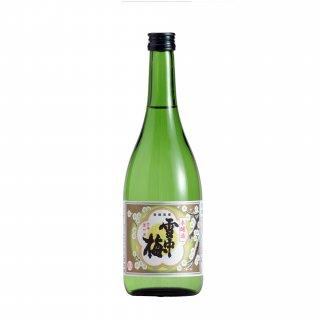 【雪中梅】本醸造 雪中梅 720ml