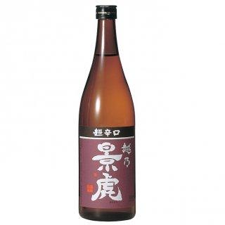 【越乃景虎】 普通酒 越乃景虎 超辛口 720ml