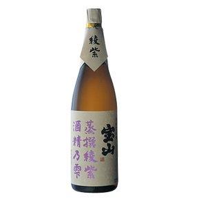 【西酒造】 芋焼酎 蒸撰シリーズ 綾紫 1.8l