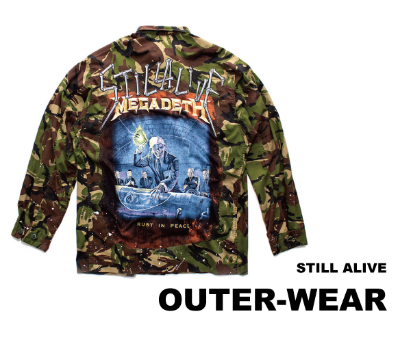 still alive outer wear collection