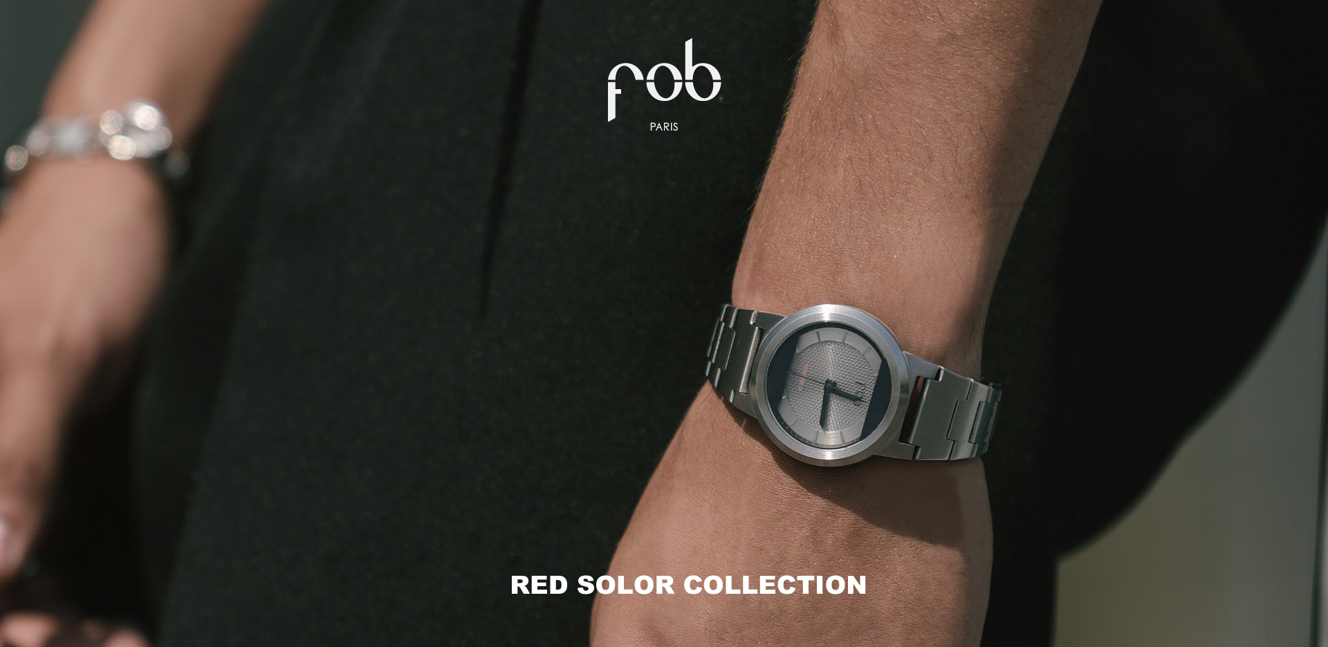 fob paris red solar collection