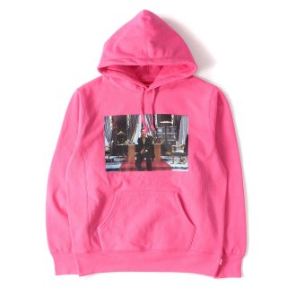 【SUPREME×SCARFACE】Scarface Friend hooded sweatshirt pink