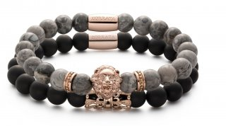 STACK ROSE GRY MATTE