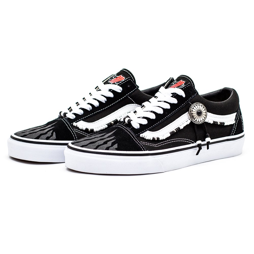 STILL ALIVE 受注生産. BLACK TRACE STLLLV x VANS Old Skool Low Custom 2a59d2c35