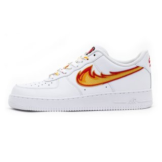 DRAGON BREATH AIR FORCE 1 White Low Custom