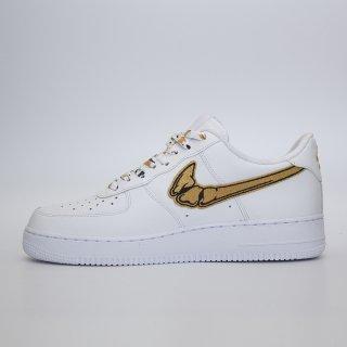 quality design b172c 33c65 FATAL AIR FORCE 1 Gold Custom Sneakers
