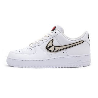 FATAL AIR FORCE 1 Bone / White Low Custom Sneakers
