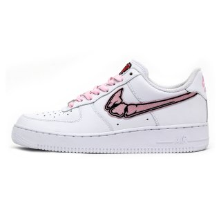 FATAL WMNS AIR FORCE 1 Pink / White Low Custom