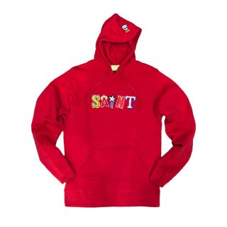 GSAINT HOODY/RED