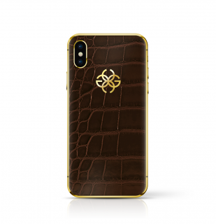 iPhone XS/XS MAX 256GB - BROWN CROCO