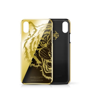 iPhone 24k GOLD CASE - LMITED TIGER EDITION