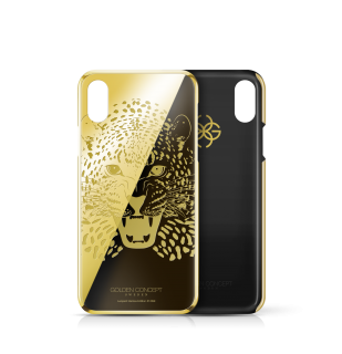 iPhone 24k GOLD CASE - LMITED LEOPARD EDITION