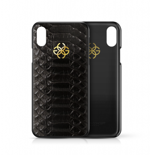 iPhone XS/X CASE - BLACK PYTHON