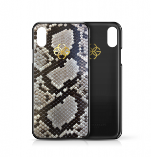 iPhone XS/X CASE - NUDE PYTHON