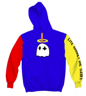 COLORBLOCKED SAINT HOODY